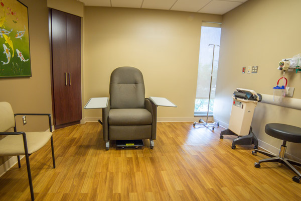 Surgery Center Pre-Op Room
